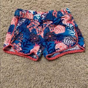 Little girl size 4 Gymboree shorts